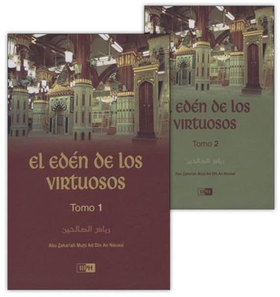 Spanish - El Eden De Los Virtuosos (Riyad-us-Saliheen) : 2 Volume Set