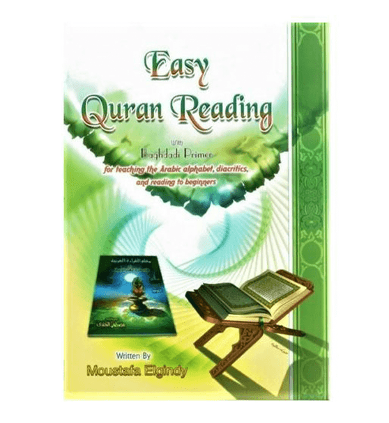 Easy Quran Reading with Baghdadi Primer (Arabic/English)
