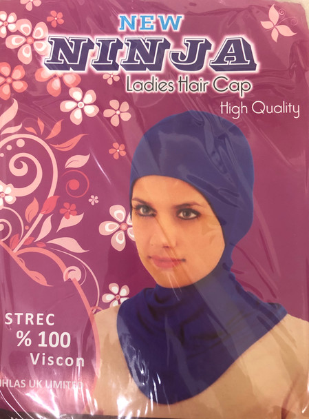 NINJA Ladies Hair Cap & Neck Cover   Made In Turkey