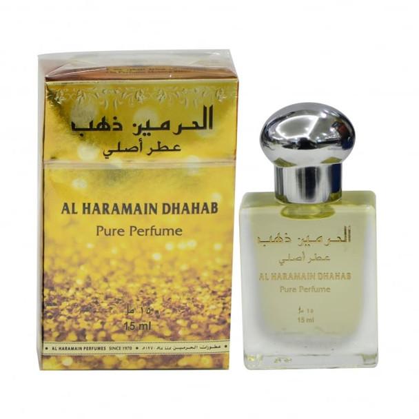 AL HARAMAIN Al Haramain Dhahab Perfumed Oil 15ml Bottle
