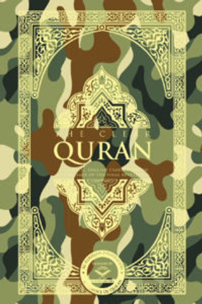 The Clear Quran – English | Paperback, Military, Pocket Size