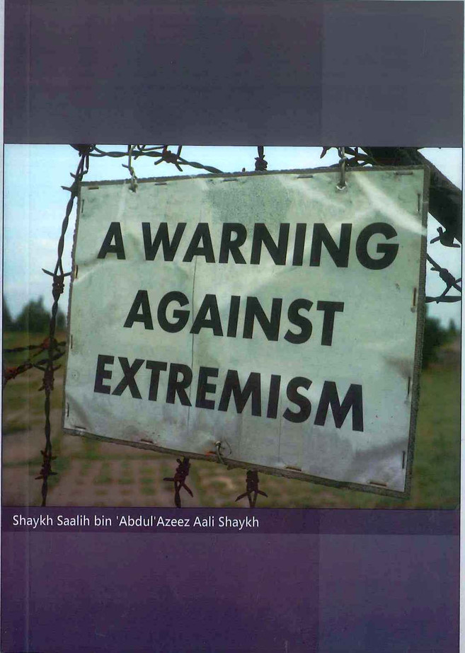 A Warning Against Extremism