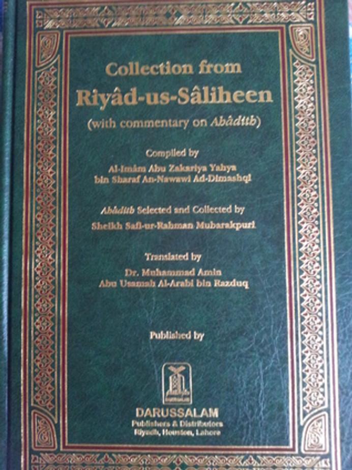 Collection from Riyad us Saliheen : Medium Size