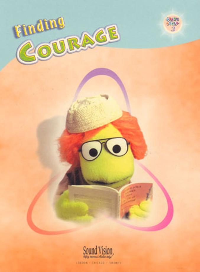 FINDING COURAGE ( ADAMS WORLD SERIES 3 )
