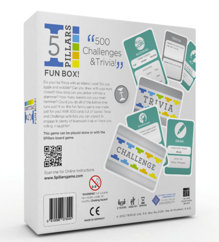 5 Pillar Fun Box (The Islamic Activity Game)