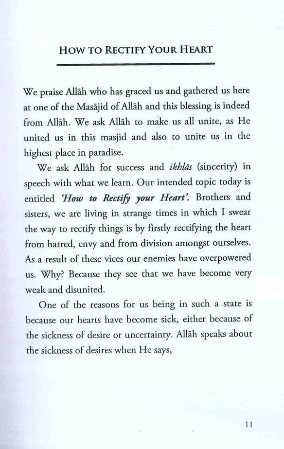 Purify my Heart By Talib Ibn Tyson al-Birtani