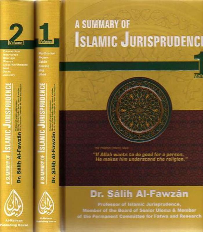 A Summary of Islamic Jurisprudence (2 Vol) Hardcover