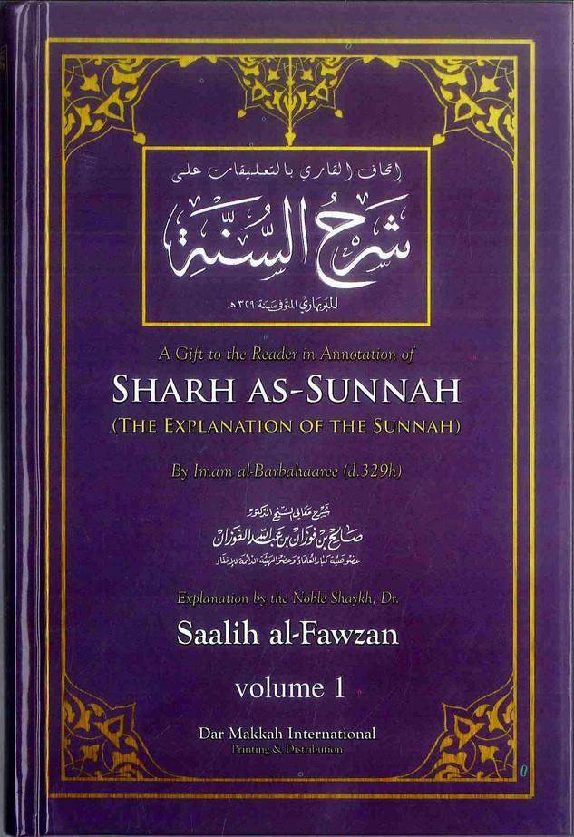 Sharh As-Sunnah : The Explanation of the Sunnah (2 Vol Set)