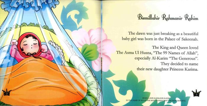 Princess Karima &The Giant Eagles