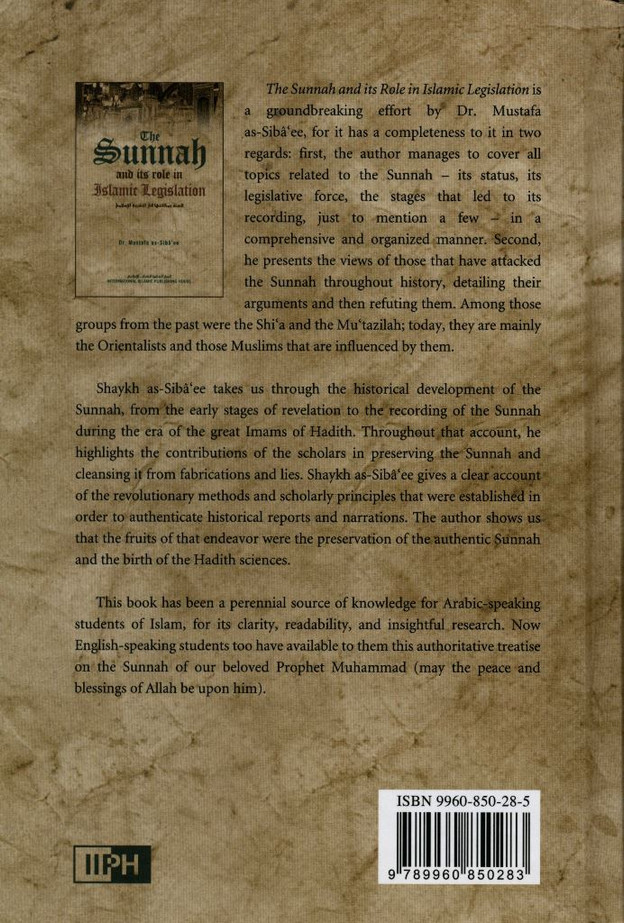 The Sunnah & Its Role In Islamic Legislation