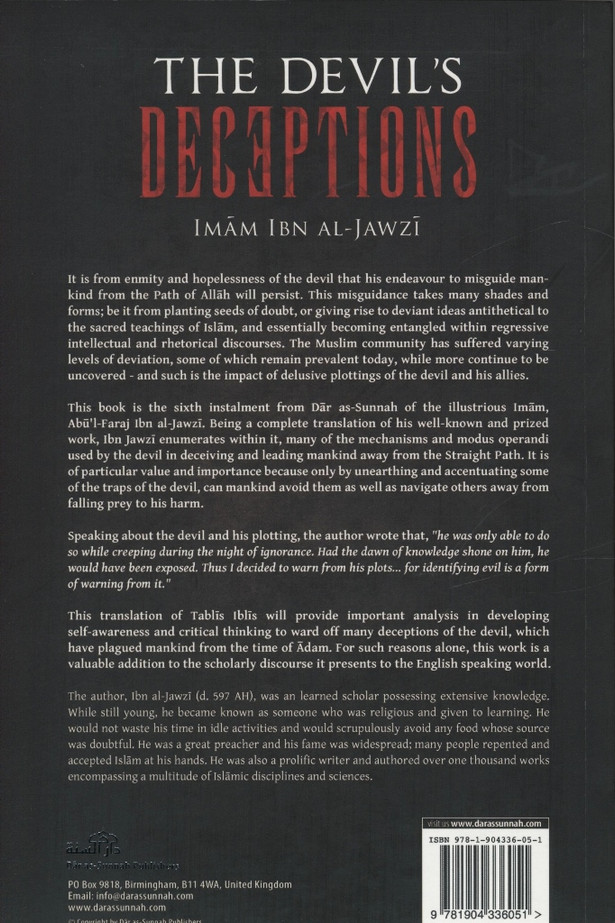 The Devils Deceptions (Talbis Iblis)