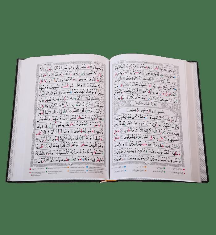 Tajweed Quran ( Persian, Urdu,hindi & South African Script with 15Lines )