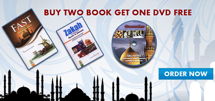 Buy Any 2 Books And Get Free Ramadhan CD
