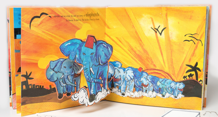 The Story of the Elephant Surah Al-Feel Quranic Pop-up and Play Book