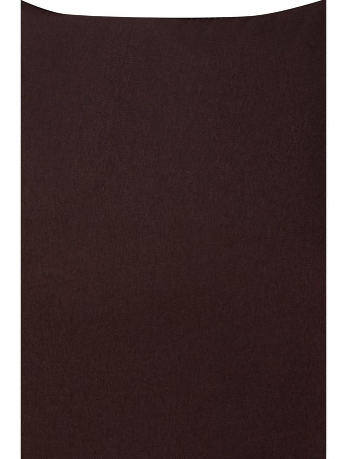 Dark Chocolate Slip Dress, Zadina