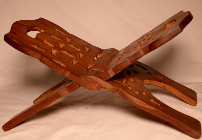 Wooden Quran Stand Medium size (Rehal - book/stand – Holder)