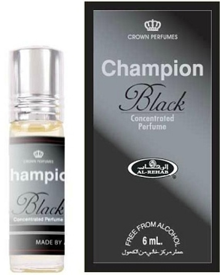 Champion Black Concentrated Perfume-Attar (6ml Roll-on)