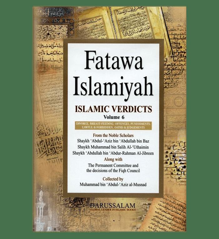 Fatawah Islamiyah : Islamic Verdicts : Volume 6