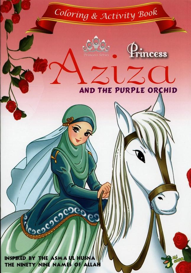 Princess Aziza Coloring and Activity book