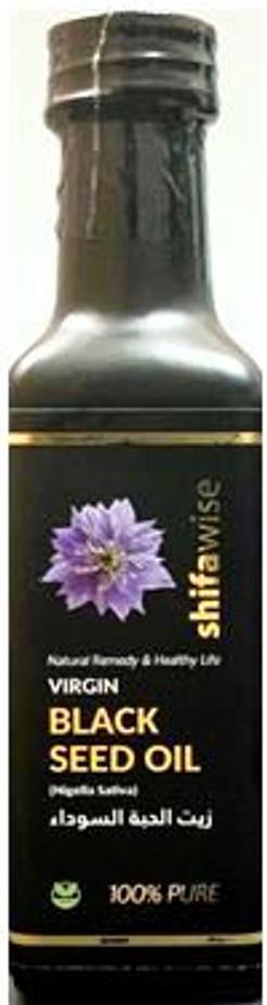 Virgin Blackseed Oil Nigela sativa by Shifawise 100ml