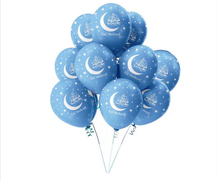 Eid Mubarak Balloons / Decorations / Accessories / Happy Eid / Ramadhan