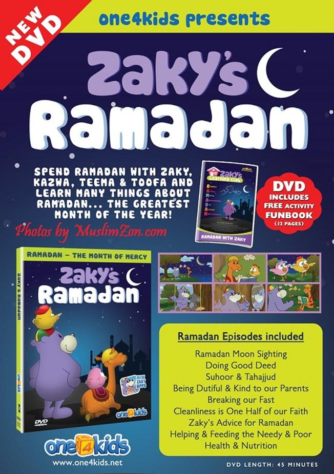 Zaky's Ramadan – Ramadan with Zaky & Friends DVD
