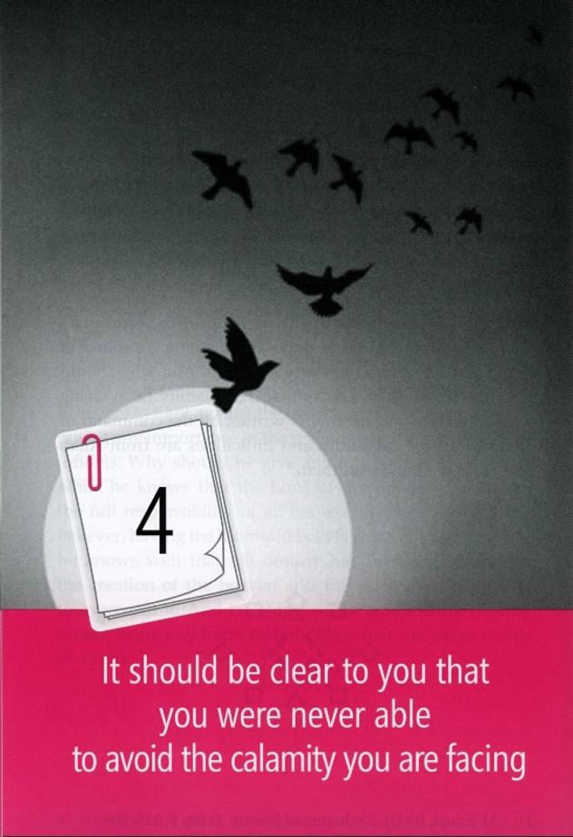 Facing Calamities(43 ways of facing Trials and Troubles)
