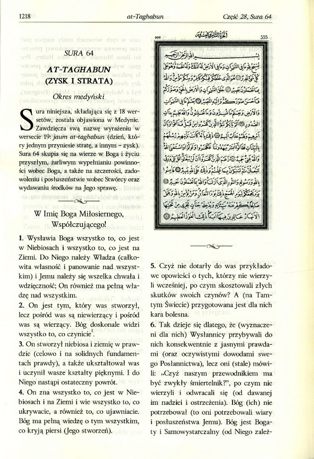 Koran in Polish Translation | Polski Quran