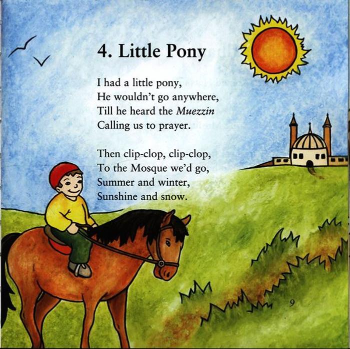 Muslim Nursery Rhymes (Book & CD)