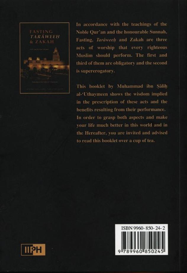 Fasting, Taraweeh & Zakat