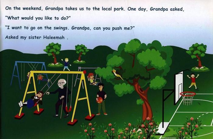 I Love My Grandpa (I Love My Family)