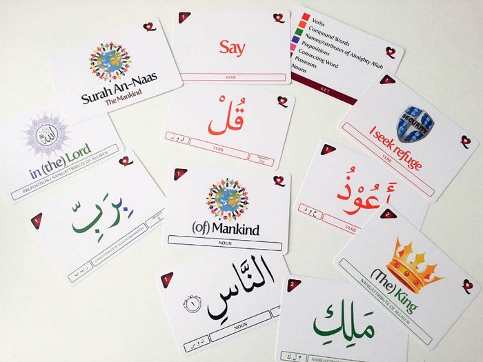 Surah An-Naas word-to-word flashcards