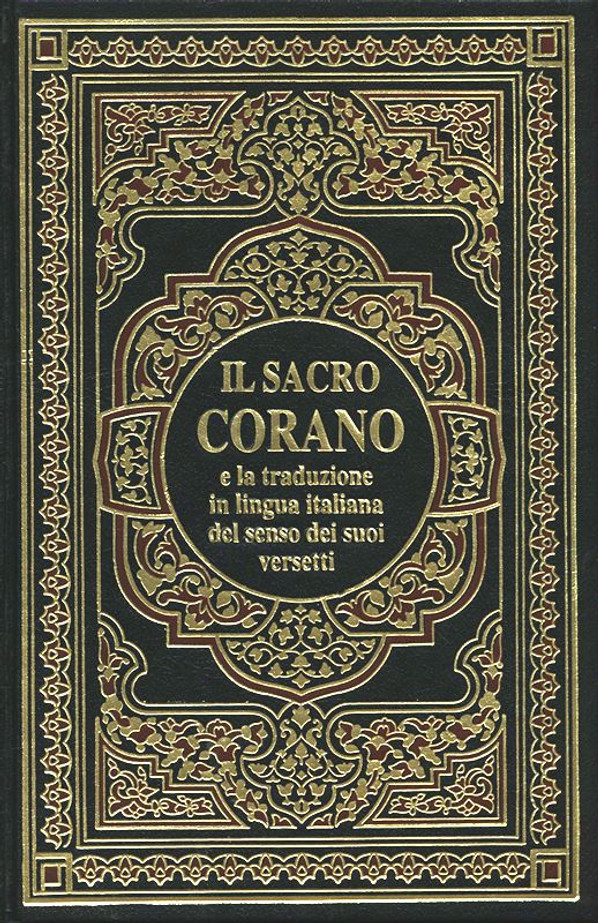 Interpretation of the meanings of the Noble Qur'an with Arabic text in Italian language