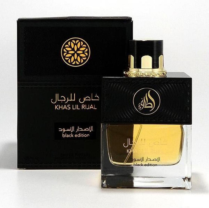 Lattafa Khas Lil Rijal Black Edition Eau de Parfum 100 ml