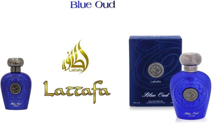 Lattafa Blue Oud Cambodian Oud,  Eau de Parfum 100 ml