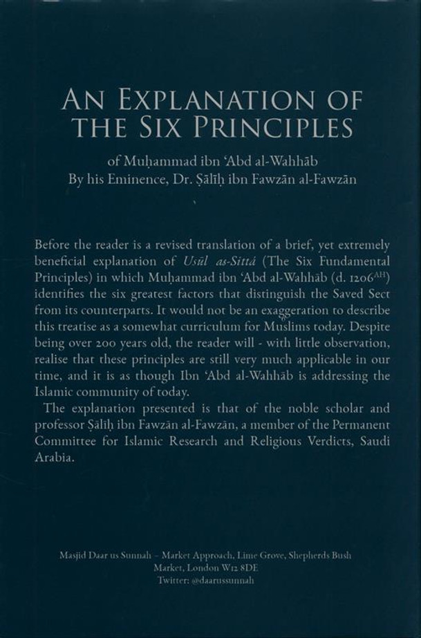 An Explanation Of The Six Principles
