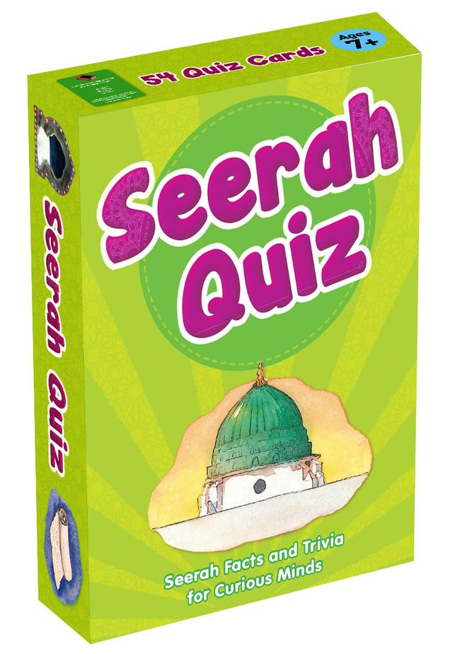 Quran Prophet Hadiths Seerah Qraaan Verses Quiz Cards for Learning Islamic Muslim Kids
