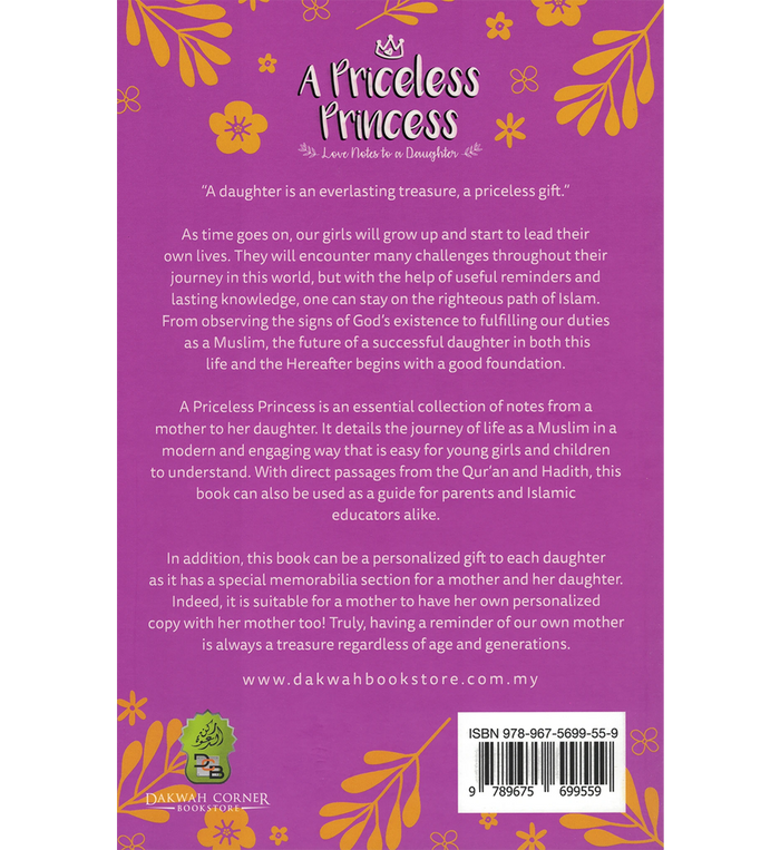 A Priceless Princess – Love Notes to a Daughter