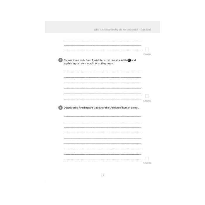 Islamic Studies: Workbook 6 – Learn about Islam Series