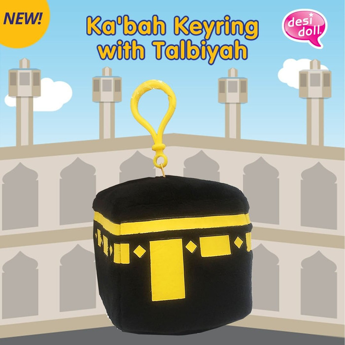 Ka'bah Keyring with Talbiyah