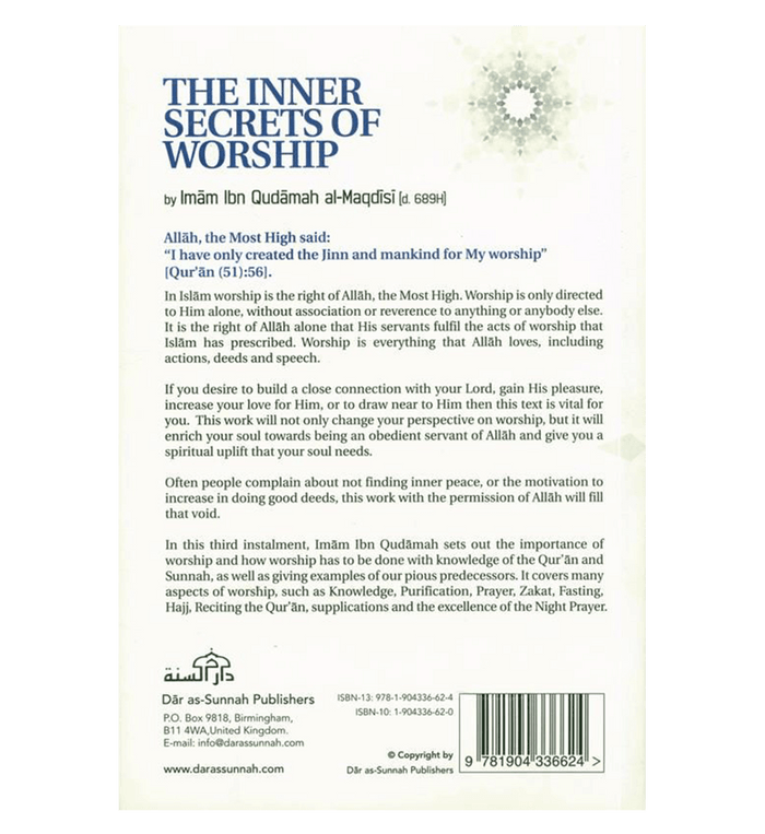 The Inner Secrets of Worship