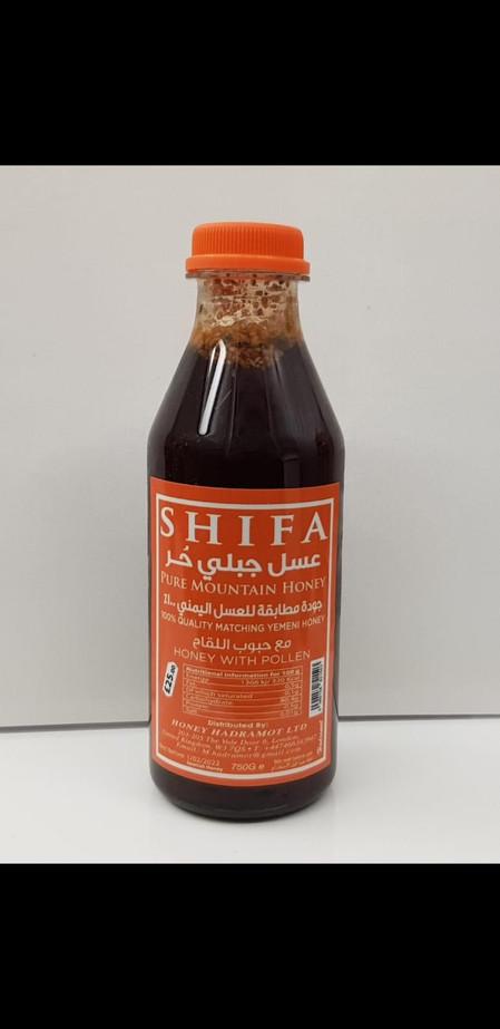 Shifa Pure Mountain Honey With Pollen