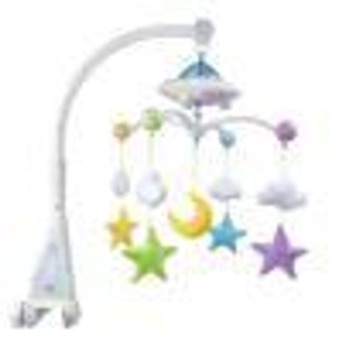 Moon & Stars Quran Cot Mobile with Light Projection
