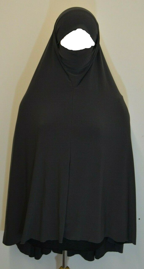 Ladies one piece hijab Niqab (Mask) include Face Veil High Quality breathable