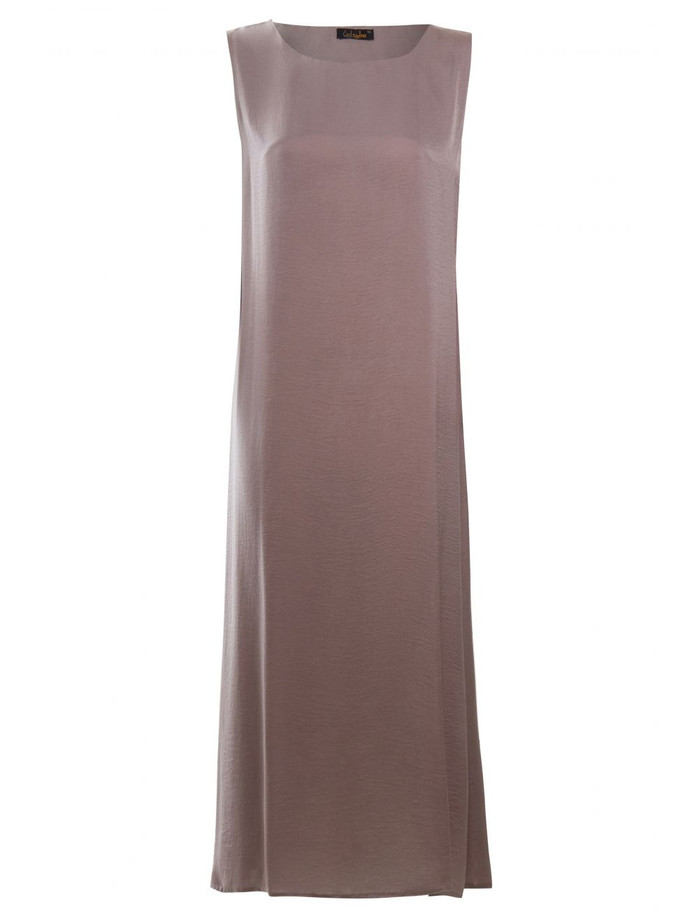 MOCHA SLIP DRESS SLEEVELESS