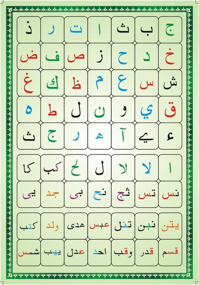 Arabic Card Back Side