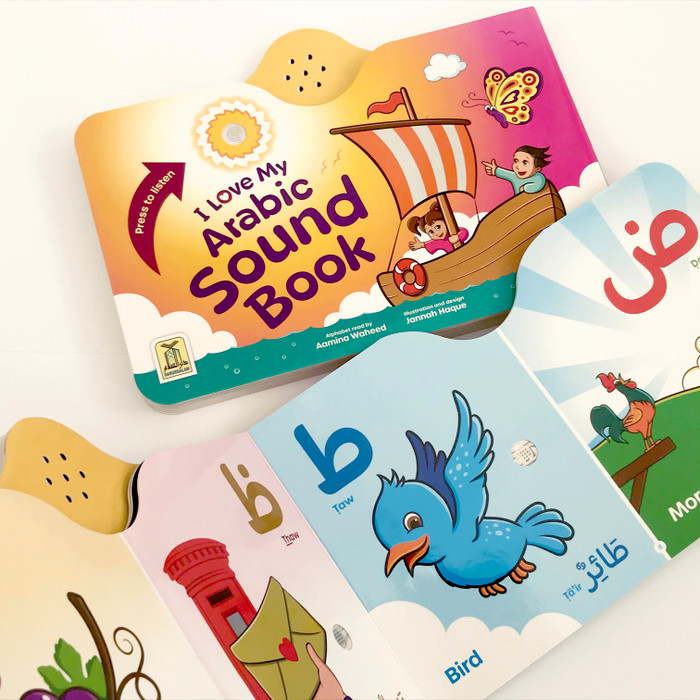 I Love My Arabic Sound Book Pictures with Eyes, 9781910015186
