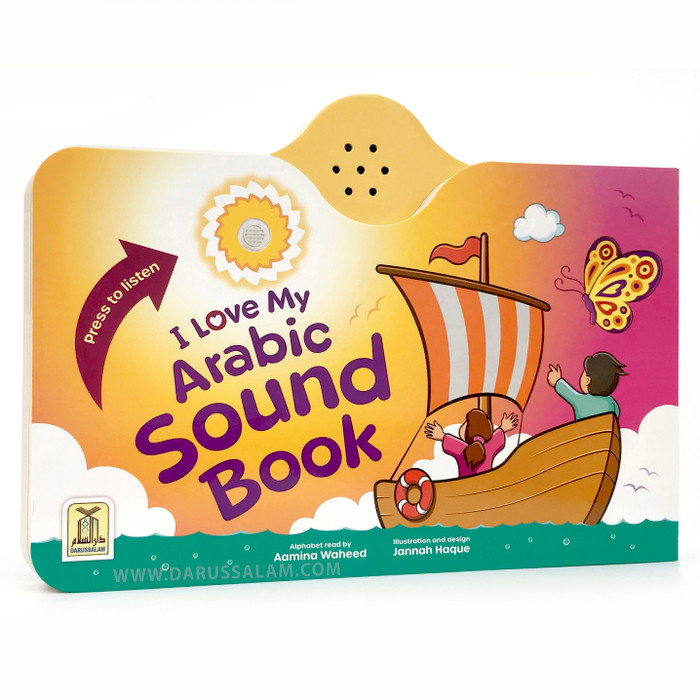 I Love My Arabic Sound Book Without Pictures, 9781910015254