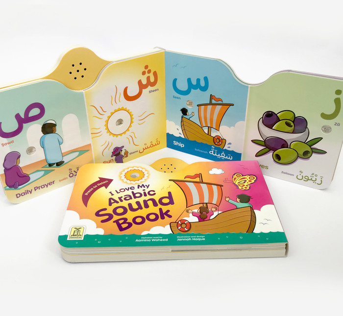 I Love My Arabic Sound Book Pictures without Eyes, 9781910015254