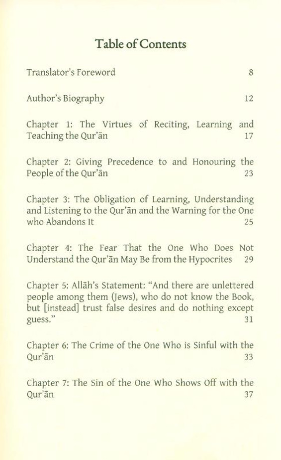 The Virtues of the Qu'ran, 9781913998011